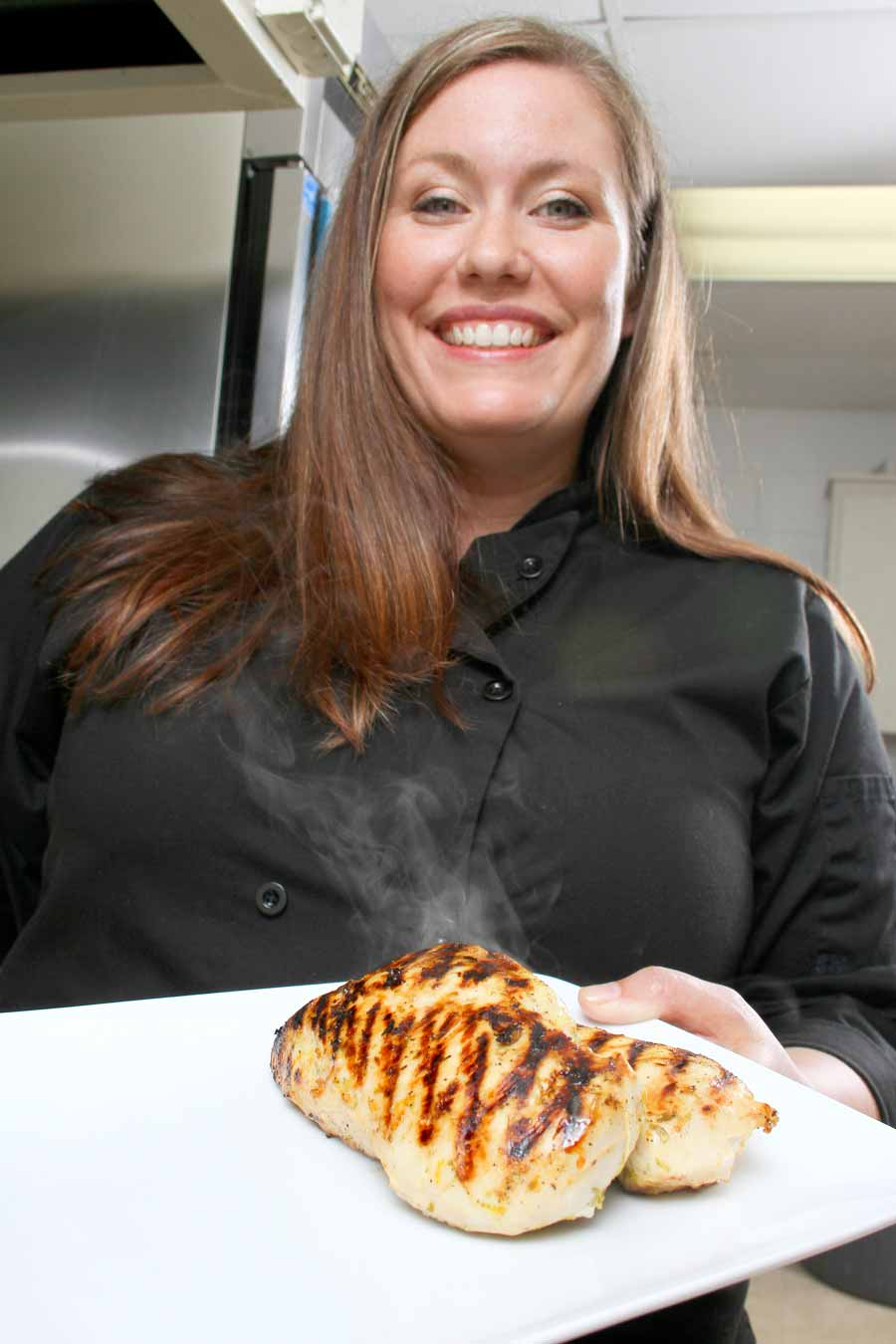 """August 2014: Jessy Flinn's Gourmet Today catering service abides by the motto """"rare service, well done."""" Jessy is just one of the many rare people we profiled in 2014 who made us say, """"Well done!"""""""