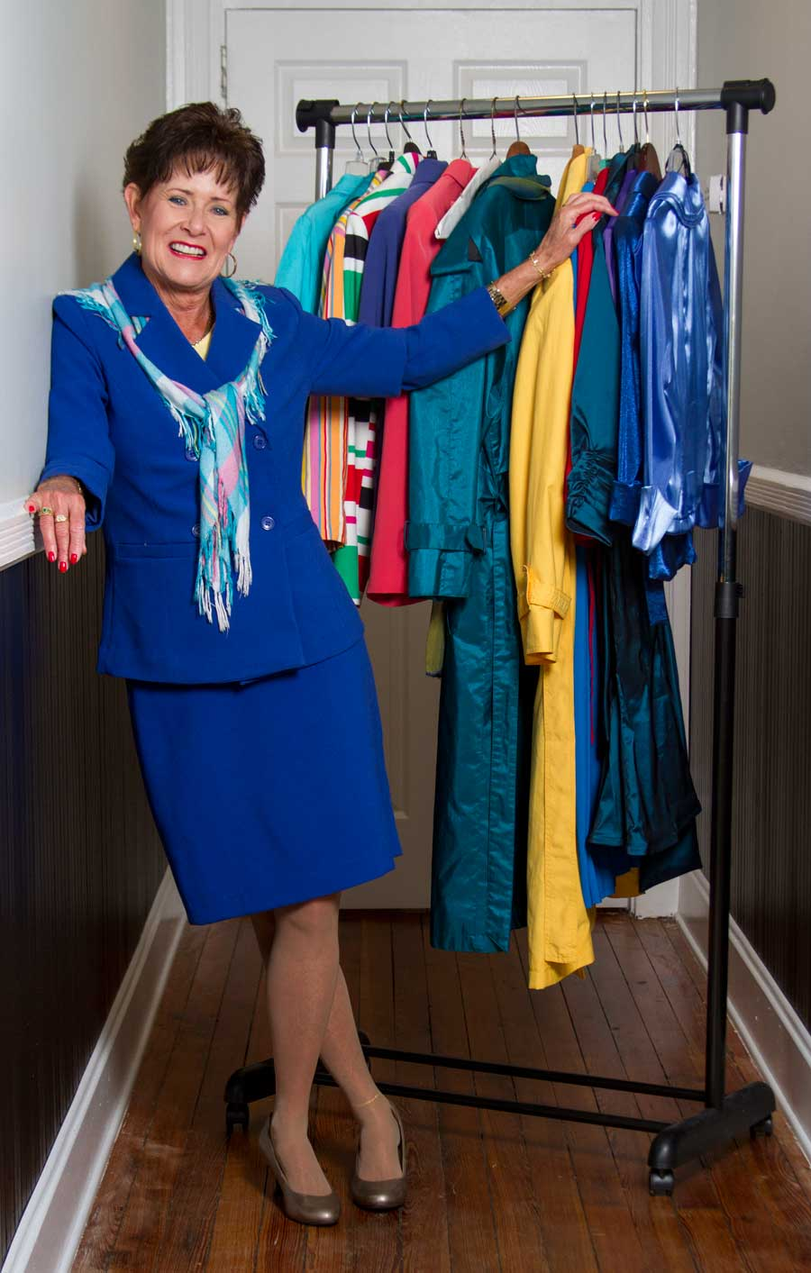 DRESS FOR SUCCESS, May 2015: Betsy Barbieux