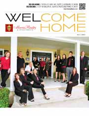 WELCOME HOME: Morris Realty & Investments' listing guide, featured in the AUGUST 2015 STYLE Magazine