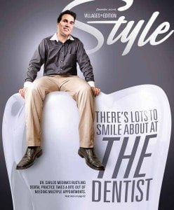 DR. CAROLS MEDINA - On the cover of Village STYLE, December 2015