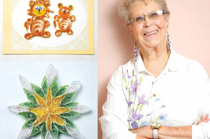 LOCAL TALENT: Lois Brandt Weber — The Medieval Art of Quilling