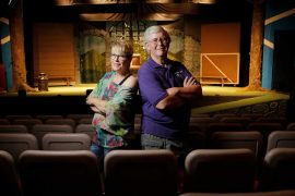 Laney Clark and Mike Winternheimer: Stage Left, Don't Miss Your Mark