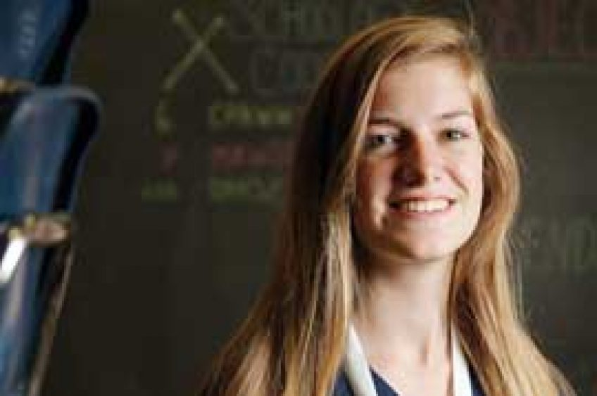 OUTSTANDING STUDENT: Brianna Thomson