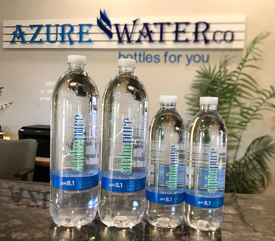 The Best Tasting Water In World Is Processed And Bottled By Azure Co Leesburg S President Ally Liu Elated Her Company