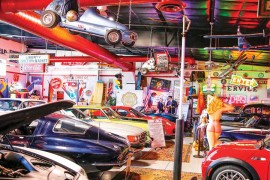 EXTRAORDINARY PLACES: Classic Dream Cars Museum of Speed—Rev Your Memories