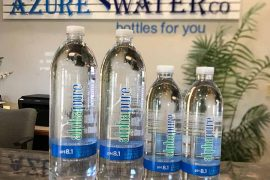 'Best water in world' bottled locally