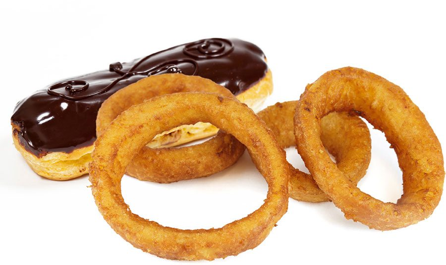Eclairs and onion rings - Lake & Sumter STYLE