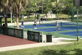 Pickleball Tournament Rocks Mount Dora
