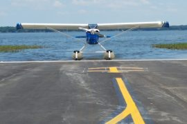 Seaplane ramp is open for business at Leesburg International Airport