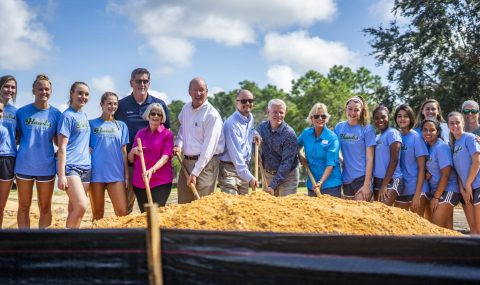 Digging in the dirt: Hickory Point athletics center project underway