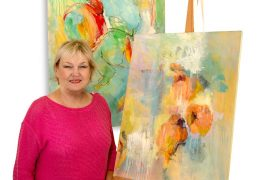 Local Talent: Her reality is abstract