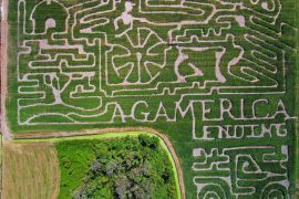 Visit Long & Scott Farms and aMAZE Yourself and Your Family