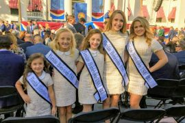 Local students attend inauguration for new governor
