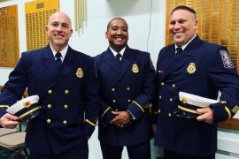 Venom 2 Unit members named Fire Officers of the Year