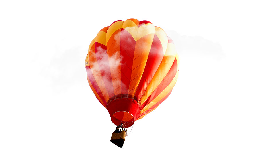 hot-air-balloon-in-the-sky