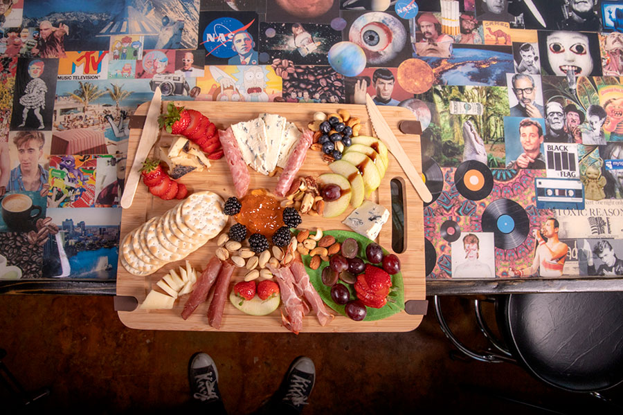 pop-culture-table-with-food-on-it