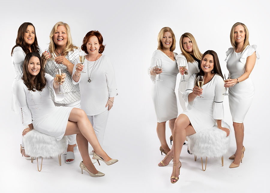 Morris-Realty-Group-business-women-holding-Champagne