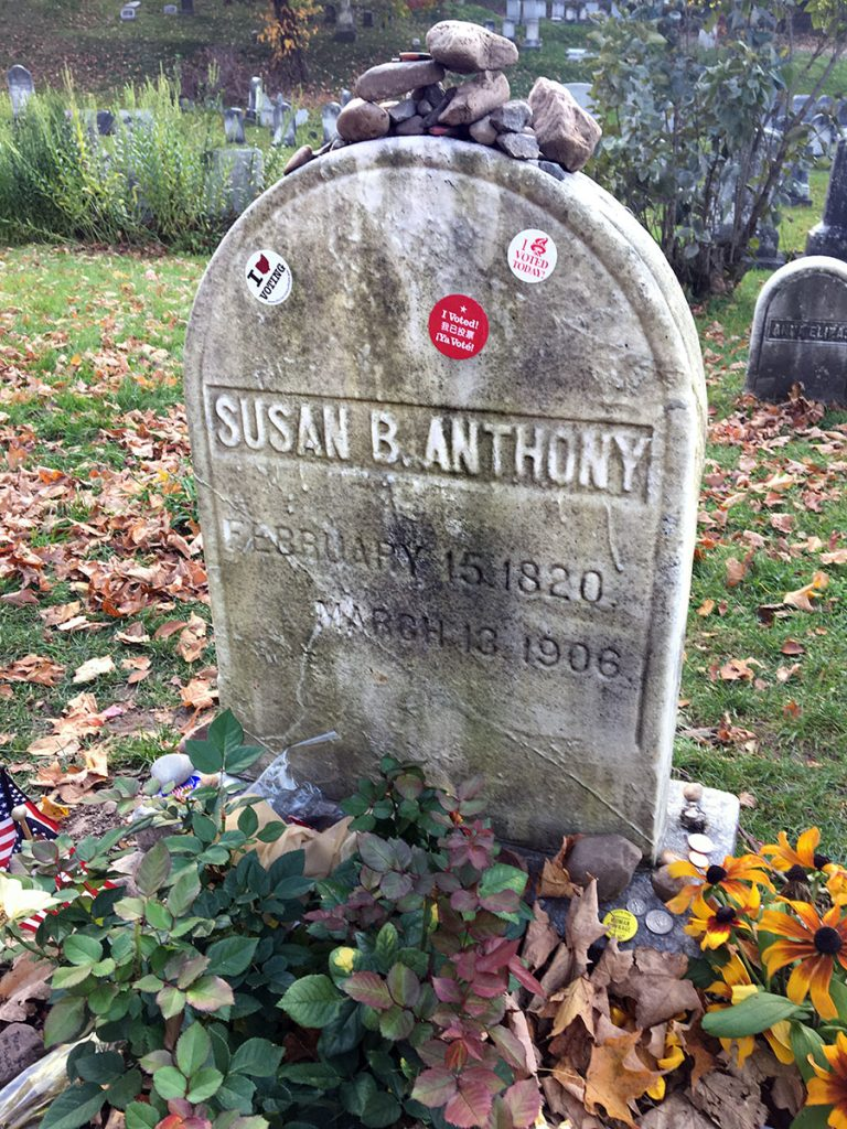 Susan-Anthony-Grave