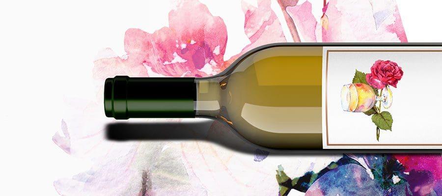 floral-wine-bottle