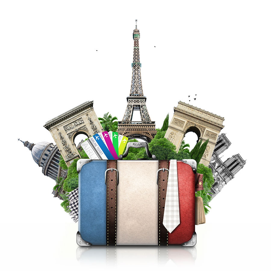 Paris-and-suitcase