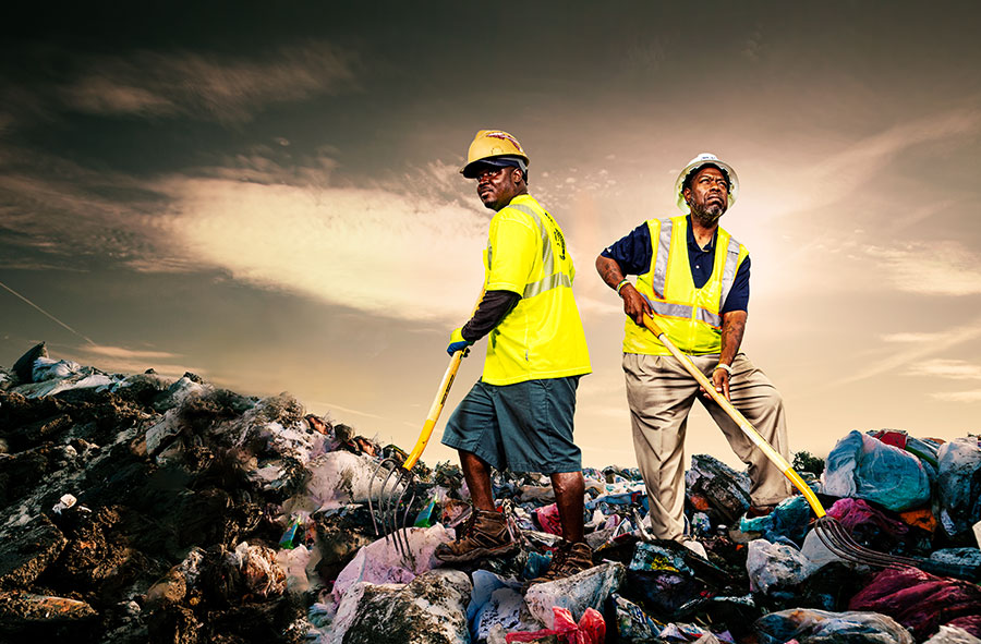garbage-men-on-landfill