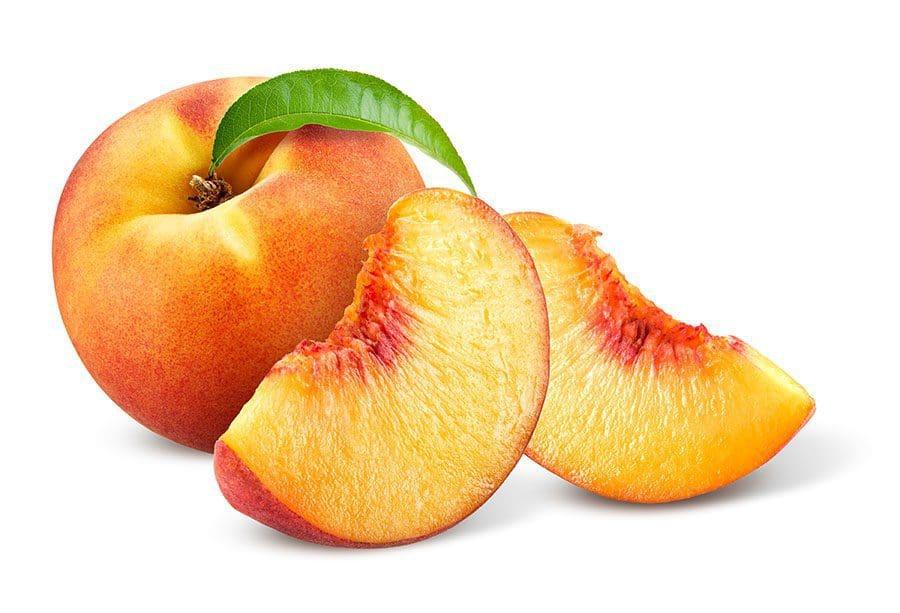 peaches-sliced