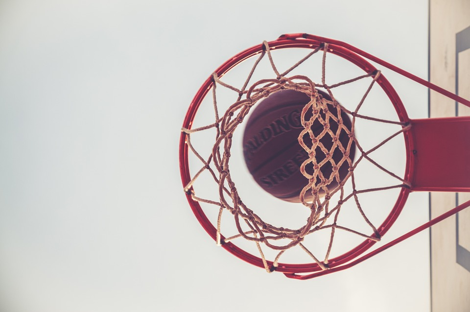 basketball-through-hoop