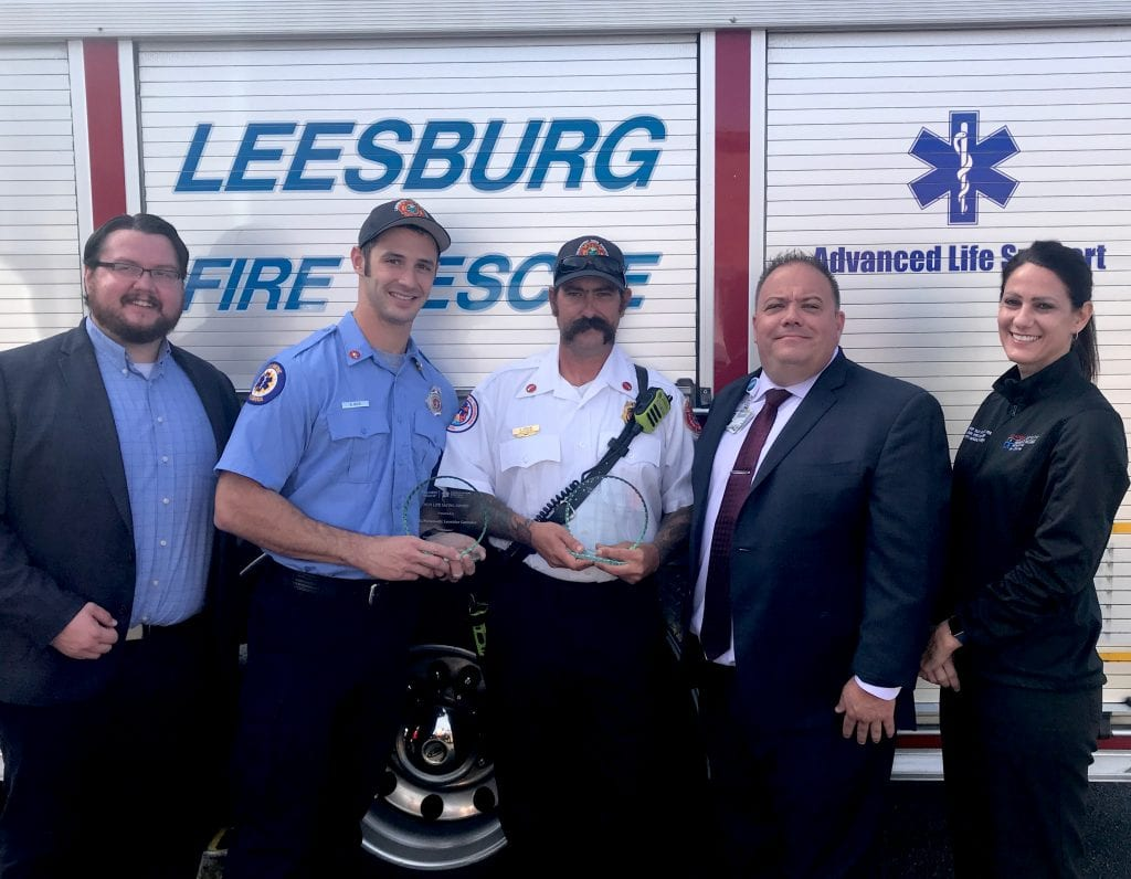 leesburg-firefighters-receive-award