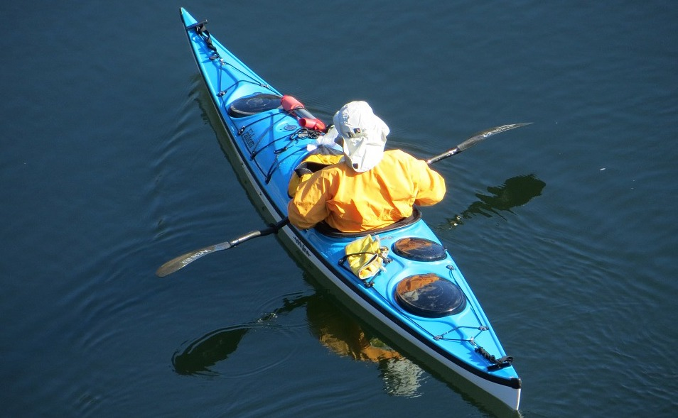 kayaker-on-water