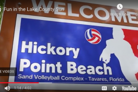 Style Magazine visits two summer hot spots; Hickory Point Volleyball Complex and the Splash Park in Tavares. (2014)