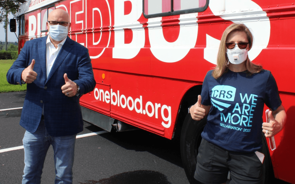 realtors-association-oneblood-bus