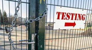 locked-gate-testing-sign