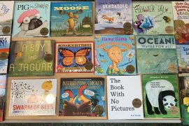 Wonderbooks arrive at the W.T. Bland Public Library