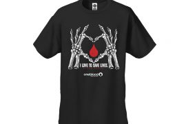 New Halloween T-Shirt Design for Donors at OneBlood